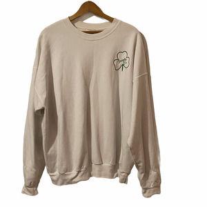 South Boston Triple O's White Crewneck Sweatshirt